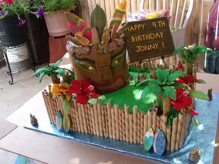 77 best Hawaiian Birthday cake ideas images on Pinterest Hawaiian