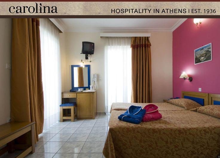 Twin Superior at Carolina Hotel Athens Greece
