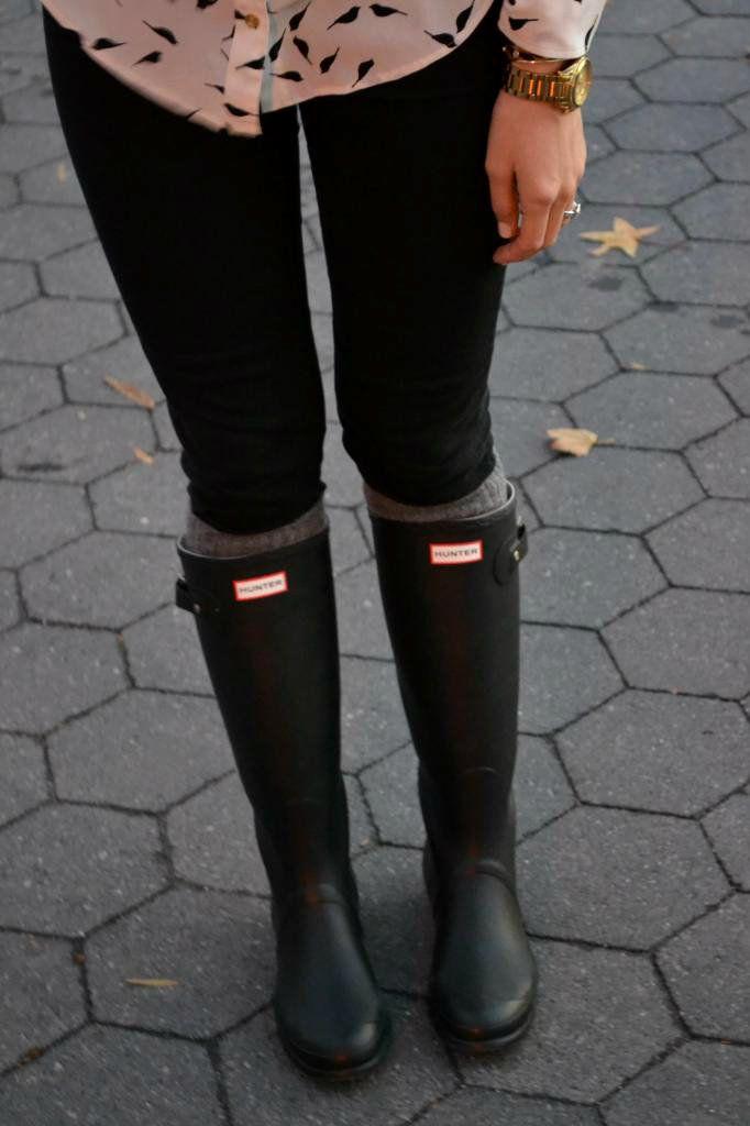 Botas de lluvia/ Hunter Boots.                                                                                                                                                                                 Más