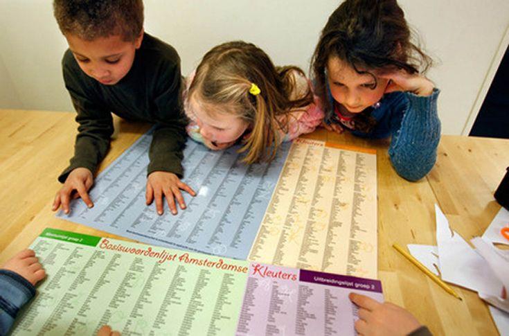 WAK - woordenlijst Amsterdamse kinderen - In totaal worden er in de WAK 10.000 woorden aangeboden. Deze 10.000 woorden zijn verspreid over zes jaargroepen (gr. 3 t/m 8). Het aantal woorden dat wordt aangeboden per groep verschilt (schema 3). De woorden nemen toe naarmate de leerlingen in een hogere groep komen.