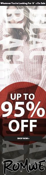 Holiday Pre Sale! Save up to 95% at us.ROMWE.com - Limited Time Offer Save on Fashion at de.ROMWE.com - Limited Time Offer http://www.planetgoldilocks.com/clothing #fashions #romwe fashions at #planetgoldilocksfashions