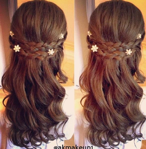 Enjoyable 1000 Ideas About Flower Girl Hairstyles On Pinterest Girl Hairstyle Inspiration Daily Dogsangcom