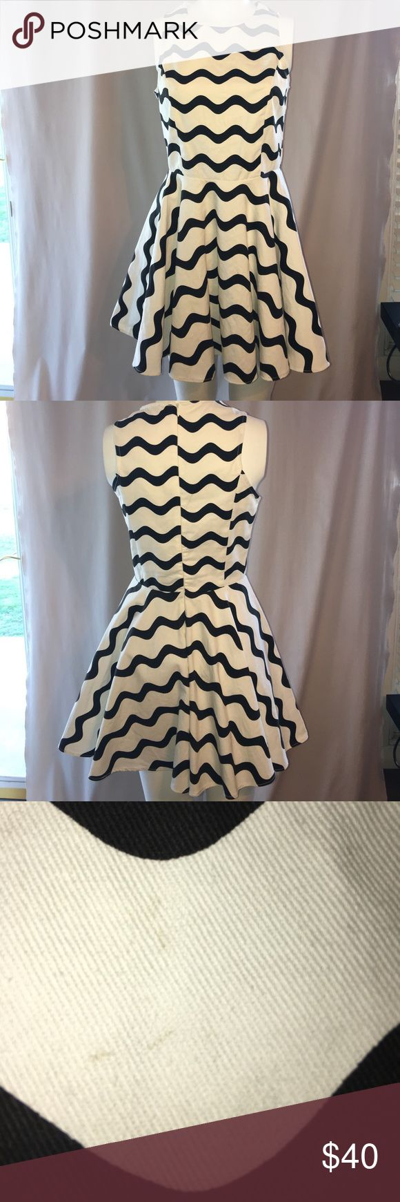 Black and White Mini Dress (has a spot on it) Mini Dress Dresses Mini