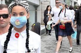 Image result for celebrities wearing surgical masks