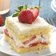 Berry Tiramisu. A delicate sponge cake layered with creamy citrus filling and fresh sliced berries.