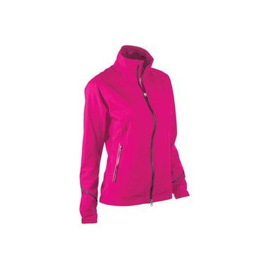 Zero Restriction Ladies GORE-TEX Stacy Rain Jacket Fuchsia, Extra Small