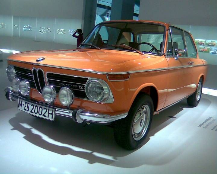 BMW 2002 Tii, BMW museum Munchen