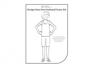 This activity allows your child to use their creativity to design their own Athletic National Team Kit.