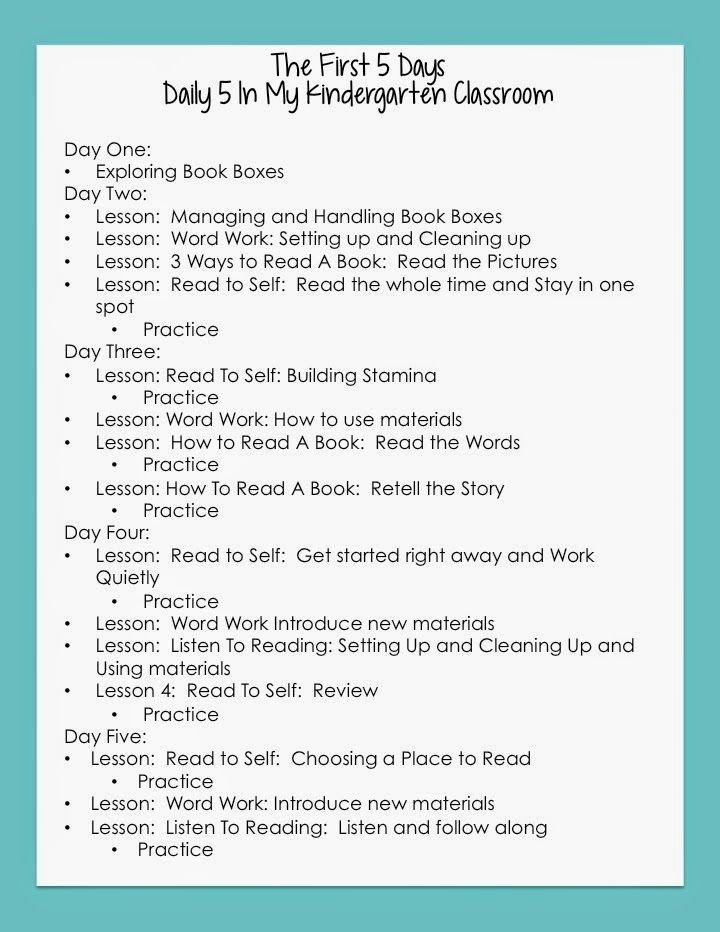36 best Kindergarten Lesson Planning images on Pinterest Classroom