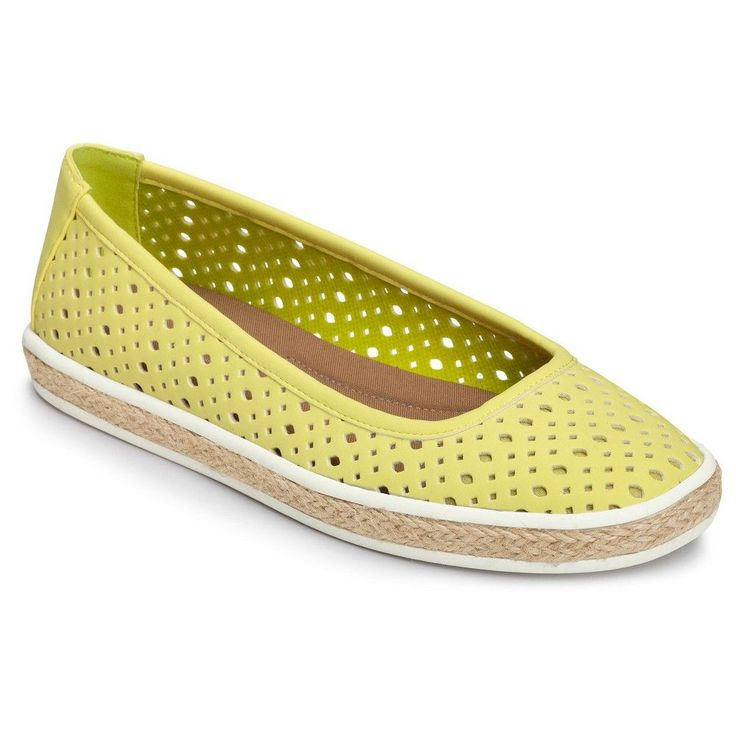 Women's A2 by Aerosoles Trust Fund Perforated Loafers - Green 8 $49.99