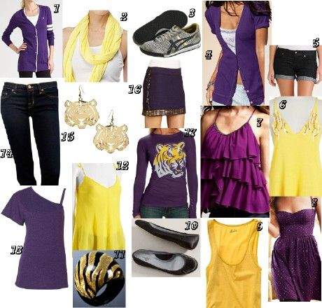 Cute LSU gear