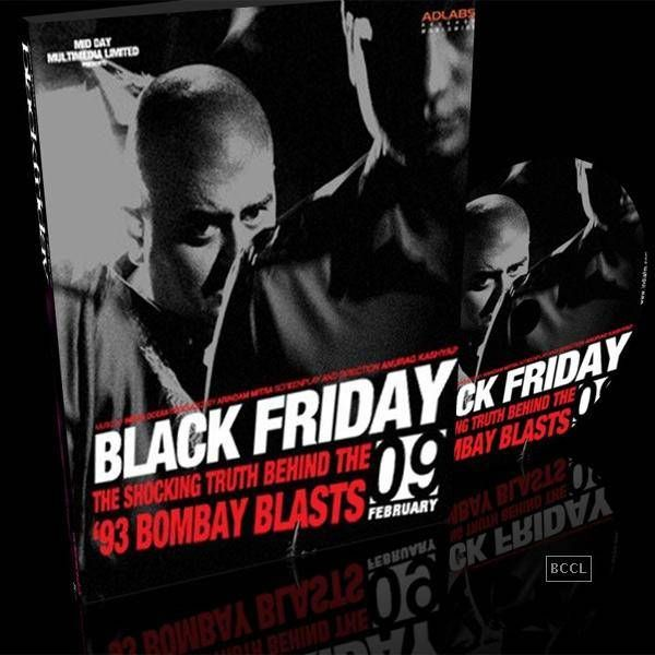 Adaptations - Books to Cinema: 100 years of Indian Cinema.  Black Friday: The film directed by Anurag Kashyap was based on Black Friday – The True Story of the Bombay Bomb Blasts, a book by S. Hussain Zaidi about the 1993 Bombay bombings.