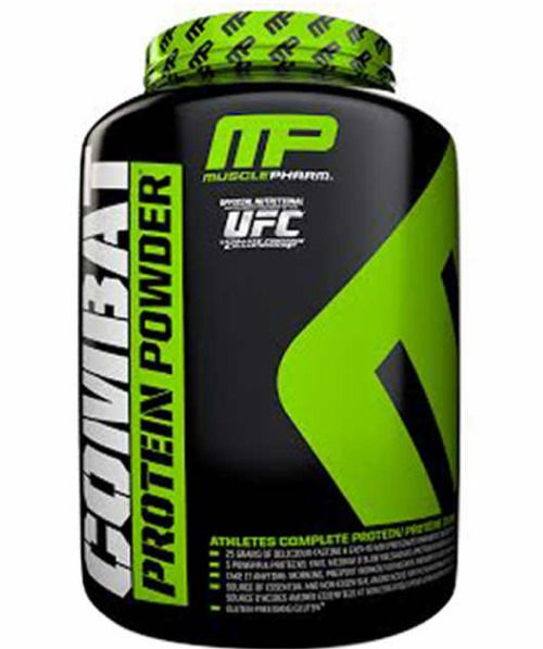 MUSCLEPHARM COMBAT PROTEIN POWDER (5 LB), Advanced Time Release Protein CookiesN #MusclePharm
