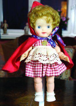 Lille rødhette dukke 28 cm Åsmund S. Lærdal