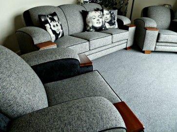 art deco lounge suites craftsman-sofas
