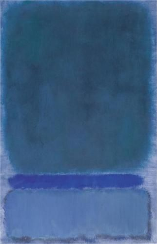 Untitled (Green on Blue) - Mark Rothko