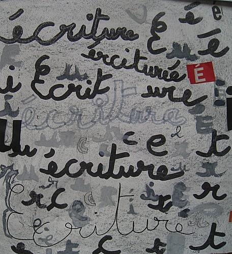 couverture cahier d'écriture