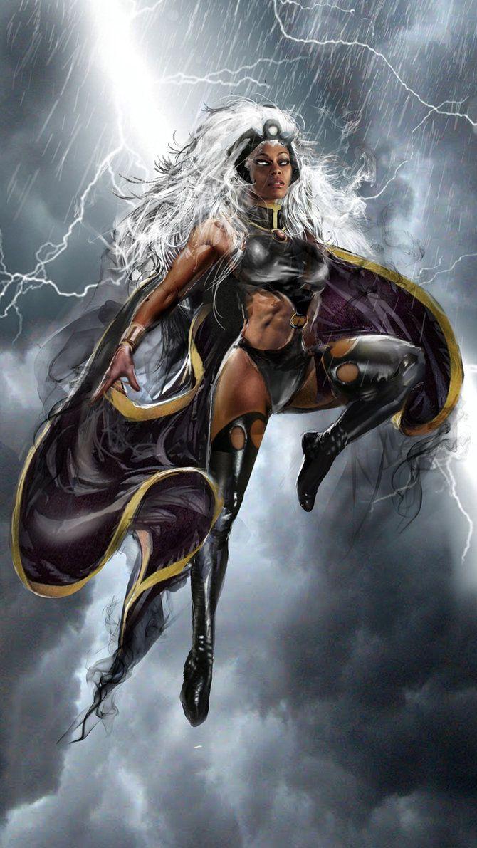 Storm WIP by uncannyknack                                                       …