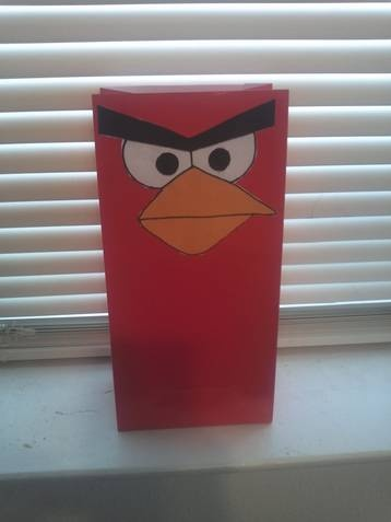 I couldn't find Angry Birds decorations and party supplies so...I made them myself!!!