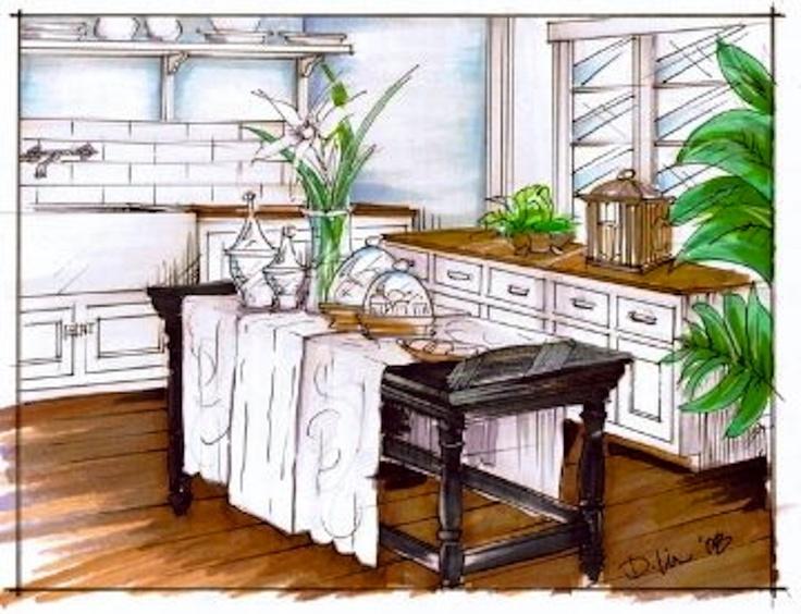 Kitchen Rendering W Dylan Gilliam