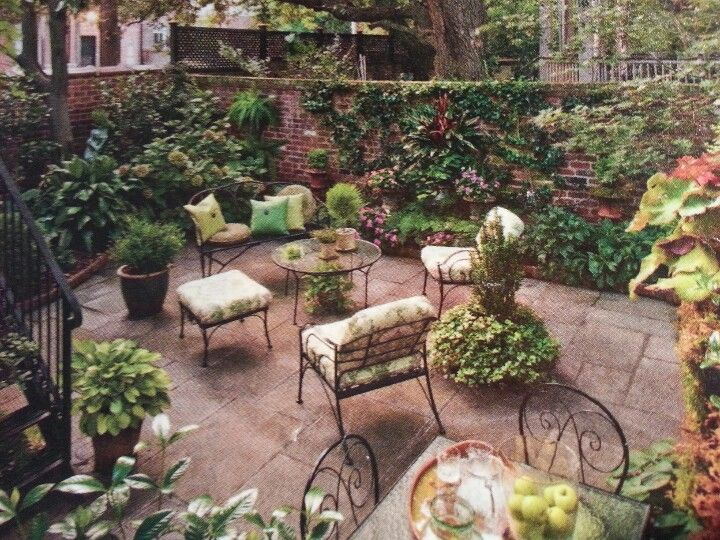 Sunken Backyard Patio : Sunken patio