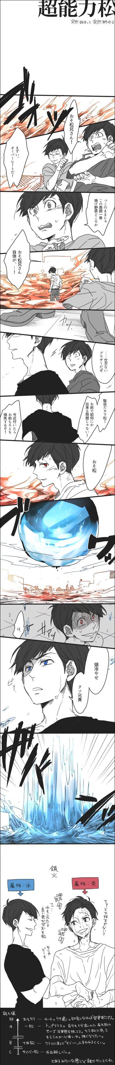 「【腐】おそ松さん詰め④」/「ゆた」の漫画 [pixiv]