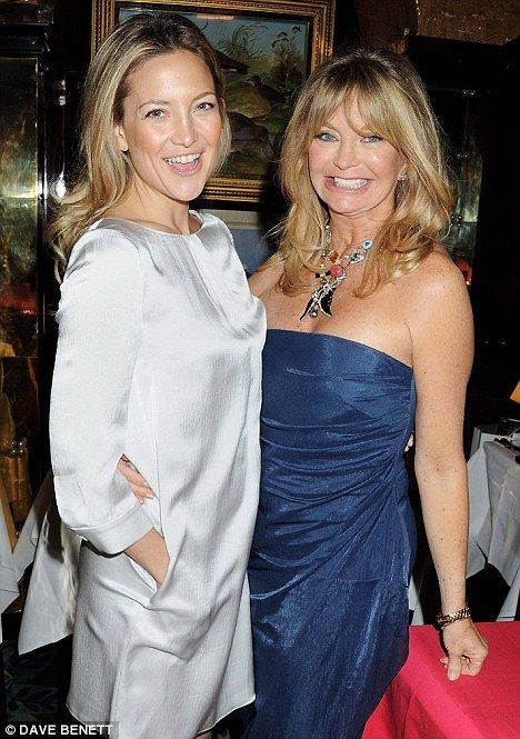 Lovely picture of Kate and Goldie.