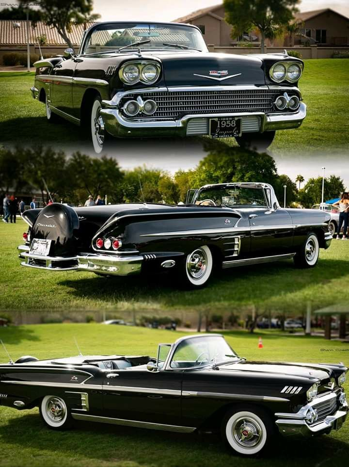 1958 Chevy Impala Convertible In 2020 With Images American