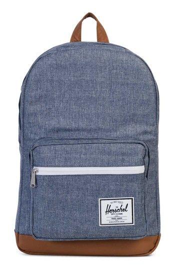8f71af00806a HERSCHEL SUPPLY CO. POP QUIZ CROSSHATCH BACKPACK - BLUE.  herschelsupplyco.   bags  backpacks