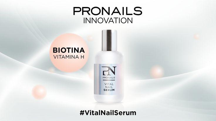 Scopriamo insieme #VitalNailSerum e tutti i suoi 6 componenti! #4 La Biotina facilita il metabolismo degli amminoacidi, fondamentali nella produzione delle cellule dell'unghia.  #pronailsitalia #pronails #loveyourhands #sopolish VitalNailSerum, il trattamento naturale che ripara, protegge e rigenera!