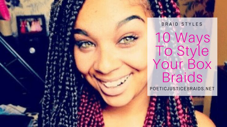 Hairstyles for Box Braids! So okay so here it is ladies, what you've been waiting for!  Not only are the box braids coming back, but the hairstyles for box braids are truly an amazing view.   #hairstyles for box braids #box braids #box braids styles #box braid styles #how to style box braids #styling box braids #ways to style box braids #box braids style pictures