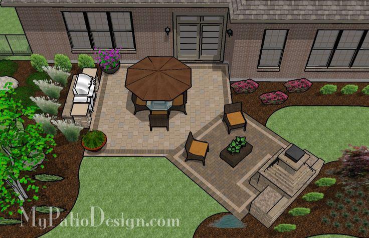Dreamy Fireplace Patio Patio Designs Ideas Outdoors