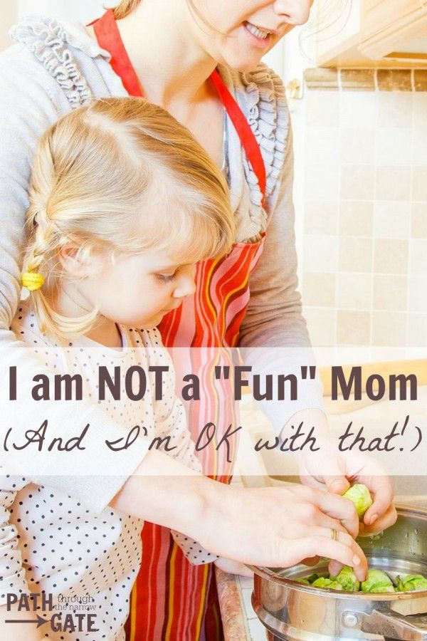 "Are you judging your parenting skills based on how ""fun"" you are making your kids' childhoods? It doesn't need to be that way!"