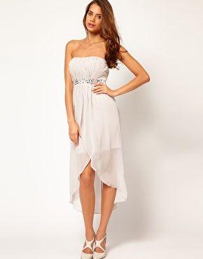 £65 Lipsy Waterfall Bustier Dress
