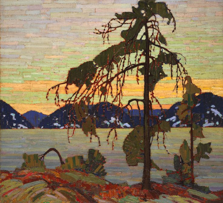 Tom Thomson (1877-1917) Jack Pine, 1917, huile sur toile, 128 x 140 cm, National Gallery of Canada