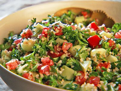 Tabbouleh, Recipe from Mad Hungry, October 2010