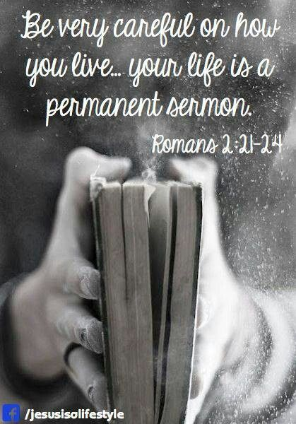 Romans 2:21-24