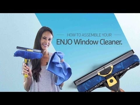 ENJO Window Cleaner Assembly Guide - YouTube