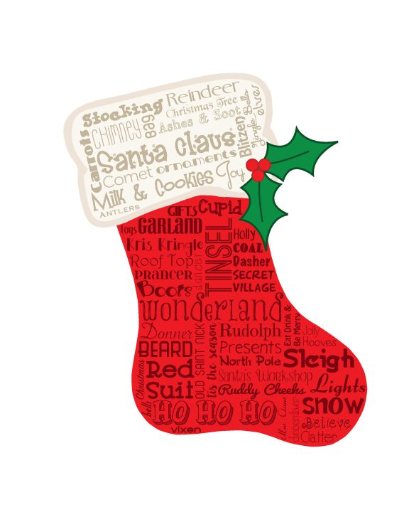 23 best Holiday Word Art images on Pinterest | Word art, Subway ...