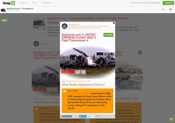 flygcforum.com ✈ UNITED EXPRESS FLIGHT 5925 ✈ Fatal Transmission ✈