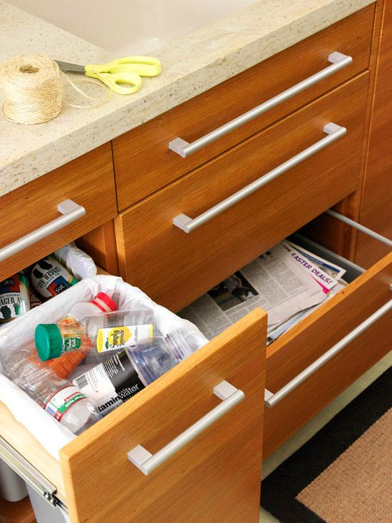32 best small apartment or home recycling images on pinterest recycling small apartments and on kitchen organization recycling id=35529