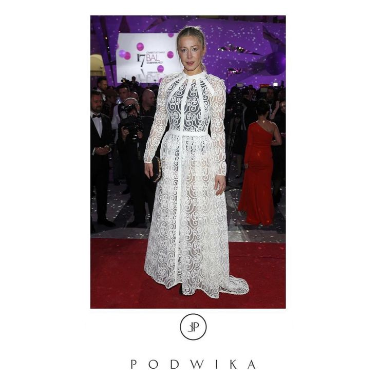 Kasia Warnke in PODWIKA #BalGwiazdDobroczynności2016 #fashion #podwika #podwikadress #kasiawarnke #warnke #styleicon #bestlook #white #lace #twofaces #balgwiazddobroczynnosci #love