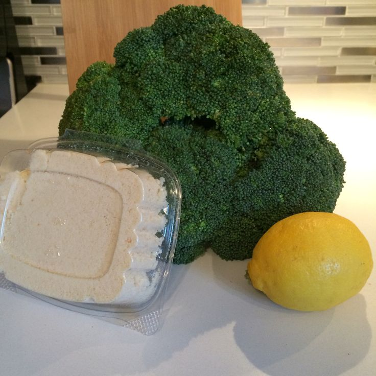 Wow! Totally upgraded my broccoli while keeping it healthy!