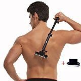 Back shaver body grooming kit for back hair removal Do it yourself with body hair shaver 2nd generation ( 5 Blades Per Count ) Reviews