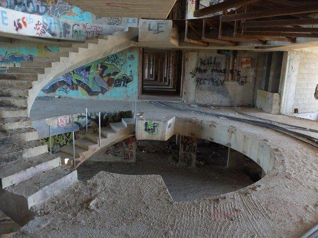 מלון נטוש טירת בת שבע צובה (מערכת וואלה! NEWS , איל שפירא)