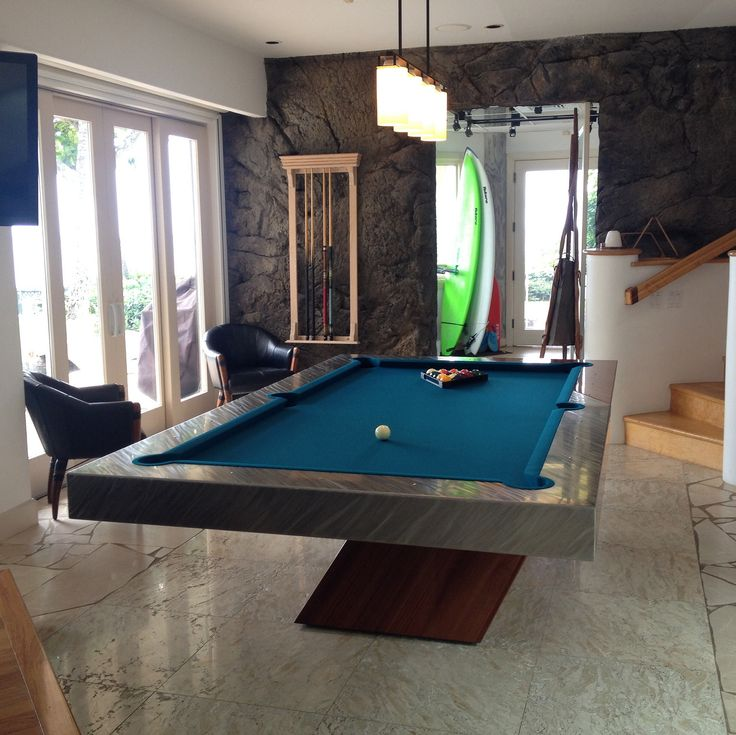 Catalina Pool Table Images by MITCHELL Pool Tables | Modern Pool Tables | Custom Pool Tables | Contemporary Pool Tables | Mitchell Pool Tables