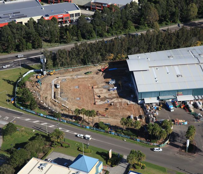 Bunnings - Tuggerah, Expansion & Refurbishment 2014
