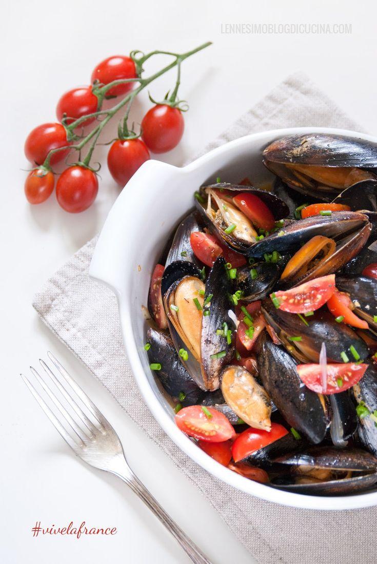 Le mie moules marinières - cozze alla francese ©annafracassi