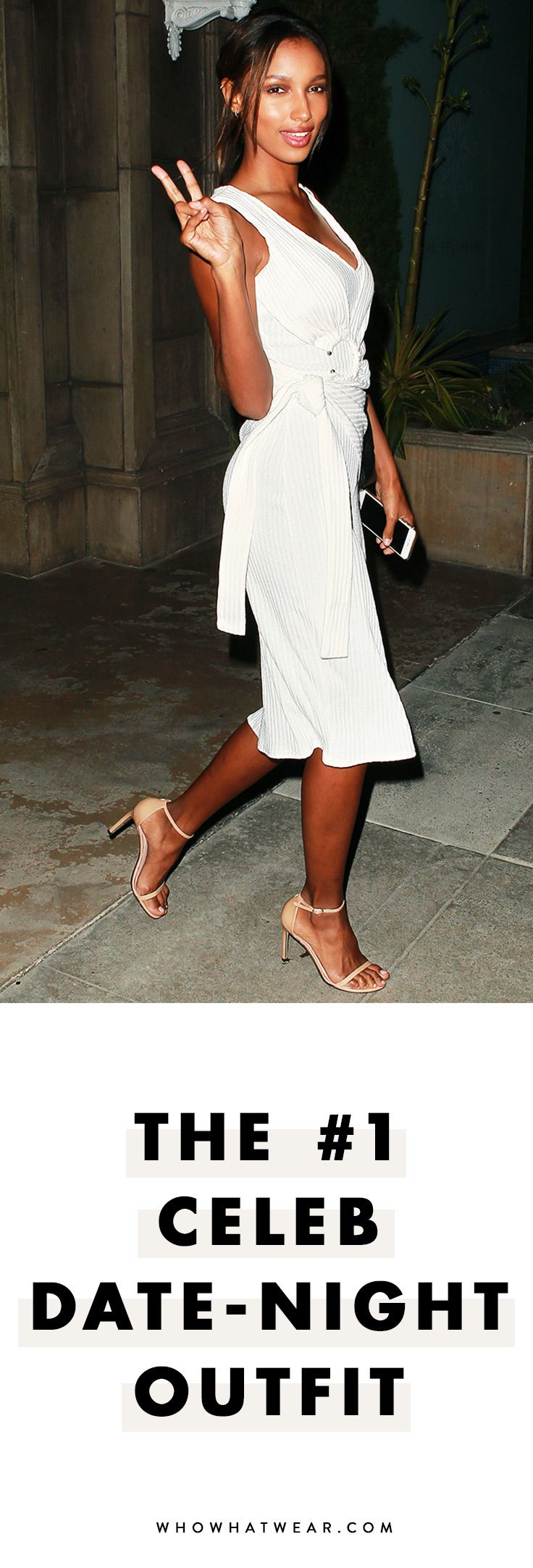 The simple date-night outfit formula celebs love.