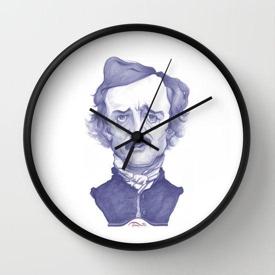 http://society6.com/product/edgar-allan-poe-illustration_wall-clock?curator=stdamos